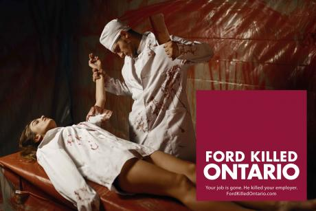 Ford Killed Ontario » Your job is gone; he killed your employer.