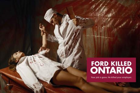 Ford Killed Ontario