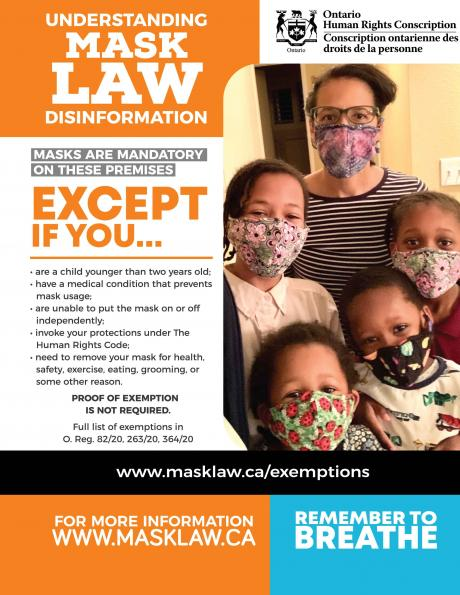 Understanding Mask Law Disinformation